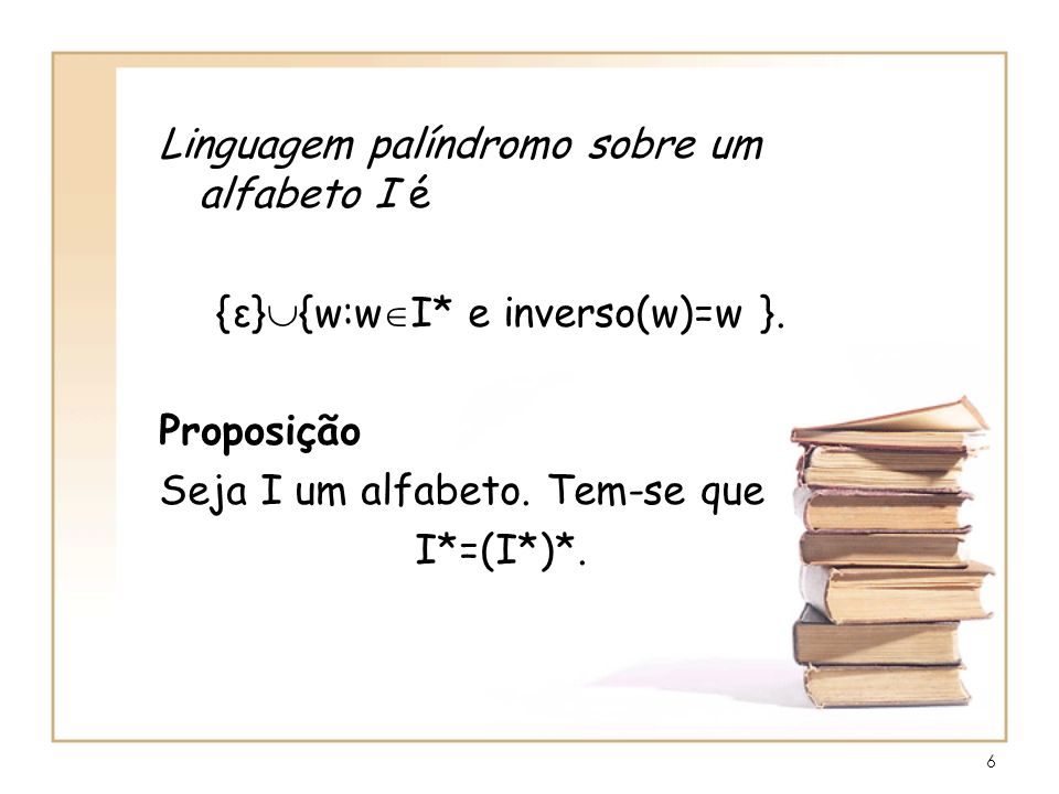 {ε}{w:wI* e inverso(w)=w }.