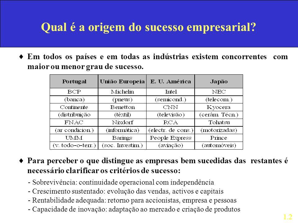 Qual é a origem do sucesso empresarial