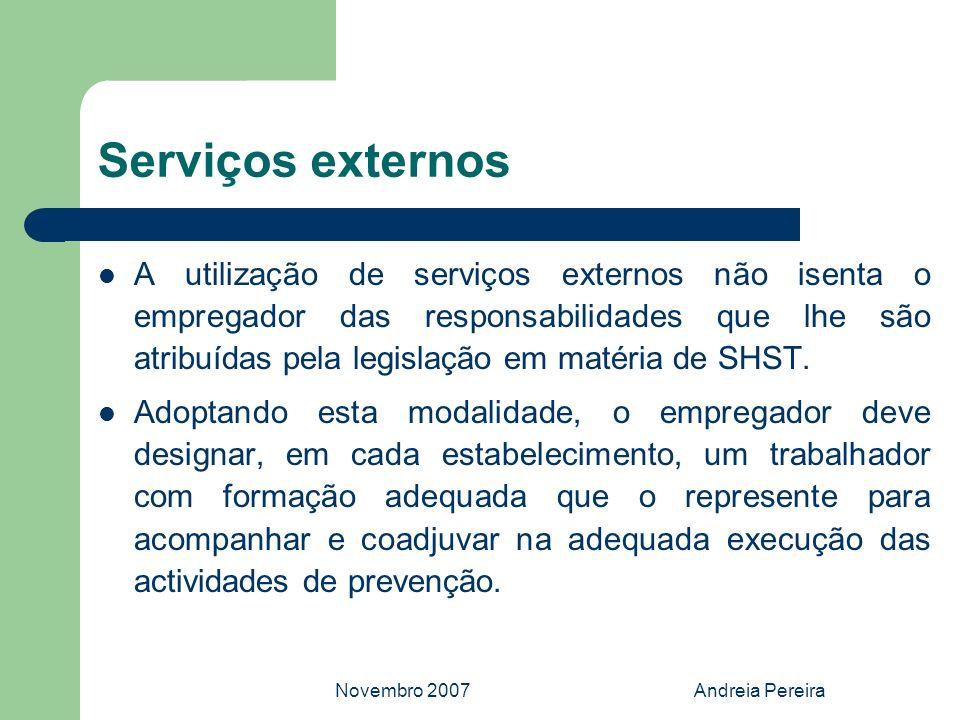 Serviços externos