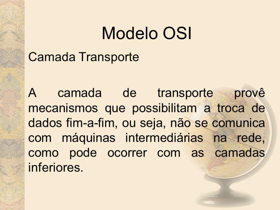 Modelo OSI Camada Transporte