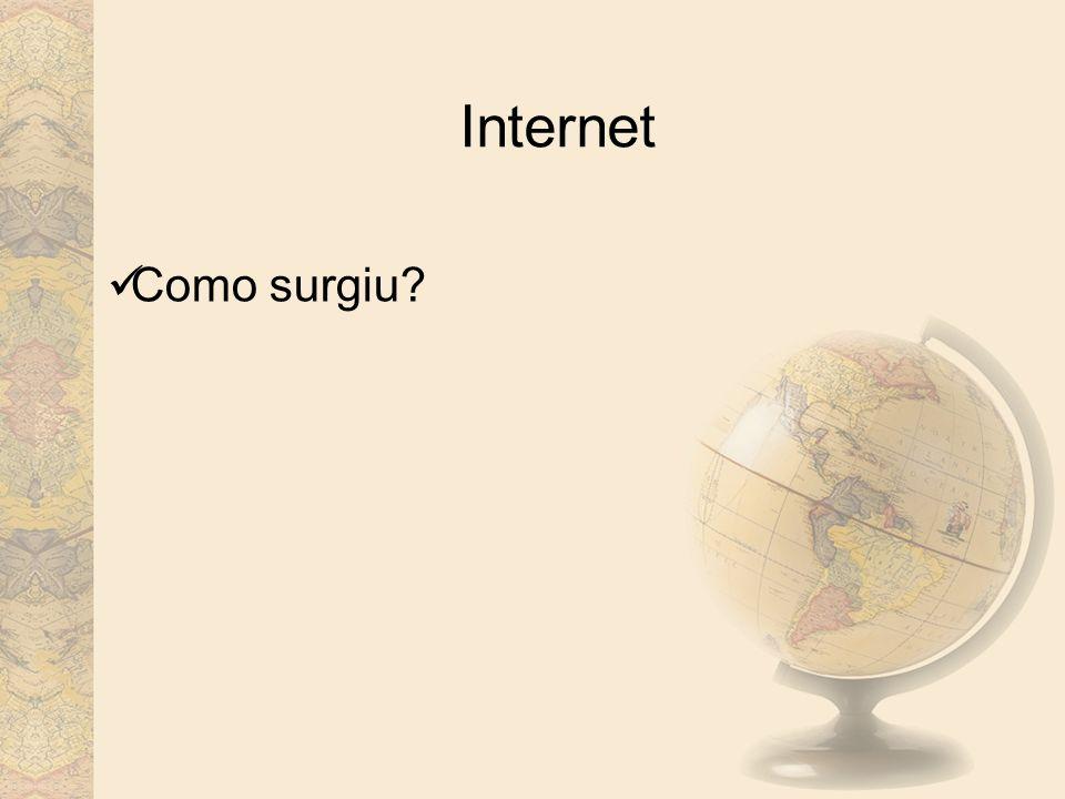 Internet Como surgiu