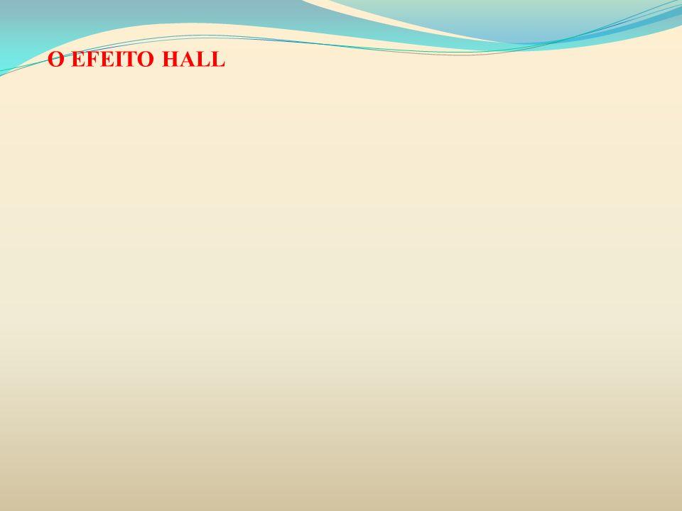 O EFEITO HALL