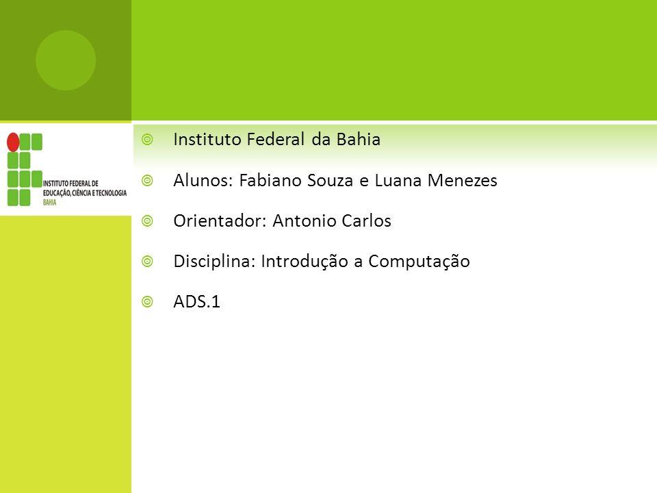 Instituto Federal da Bahia