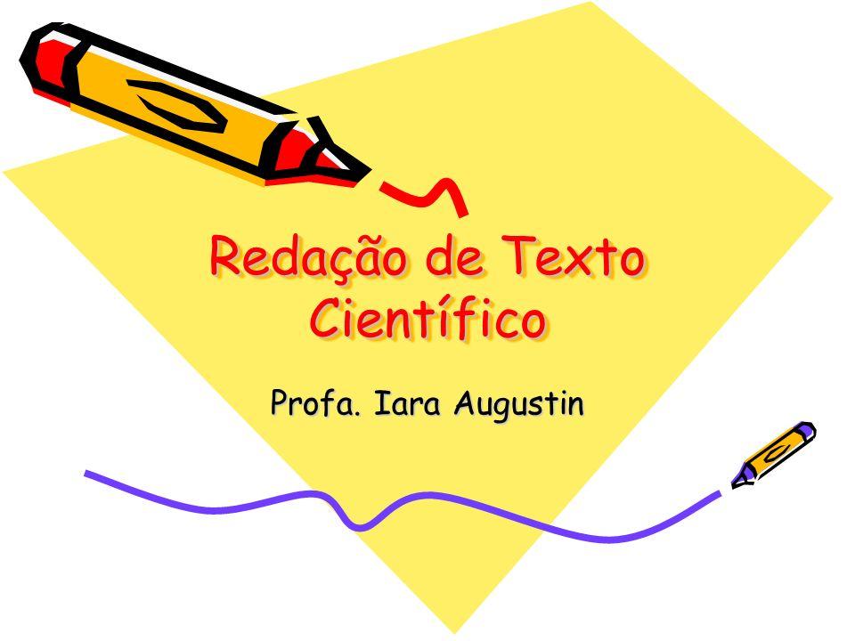 Redação de Texto Científico