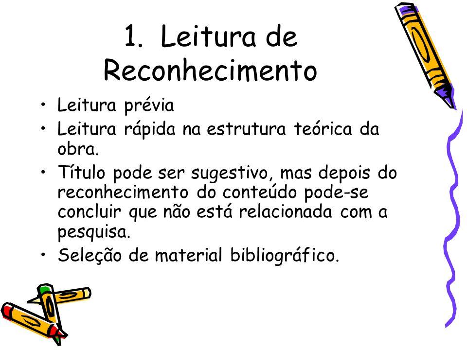 1. Leitura de Reconhecimento