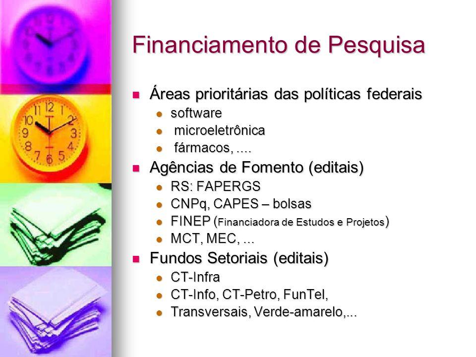 Financiamento de Pesquisa