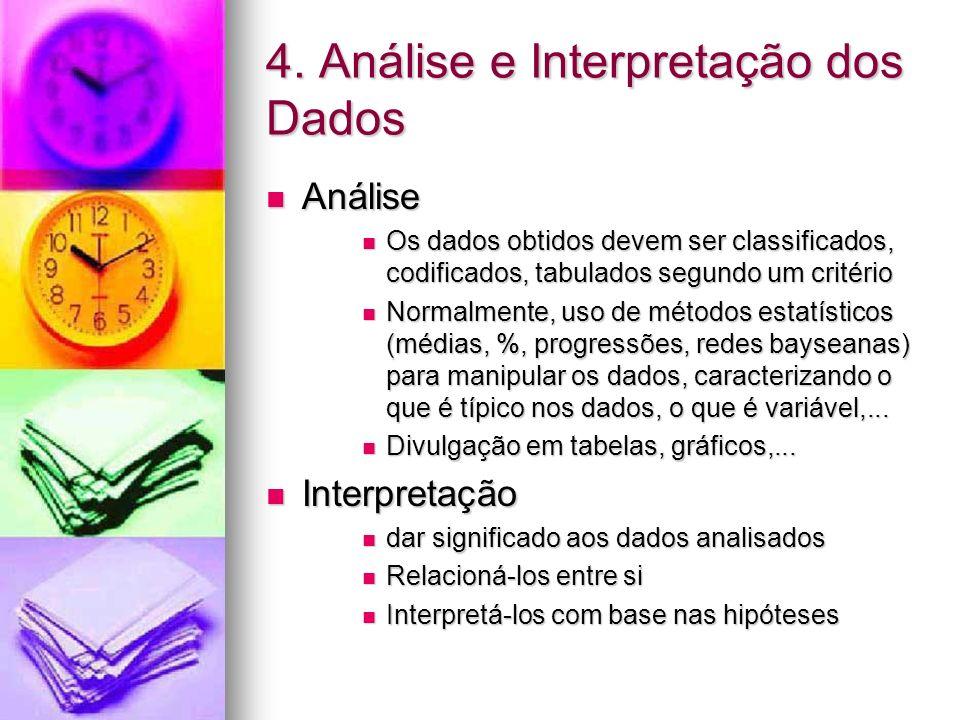 4. Análise e Interpretação dos Dados