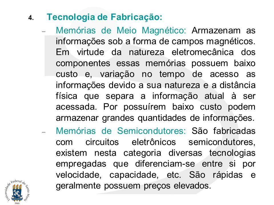 Tecnologia de Fabricação: