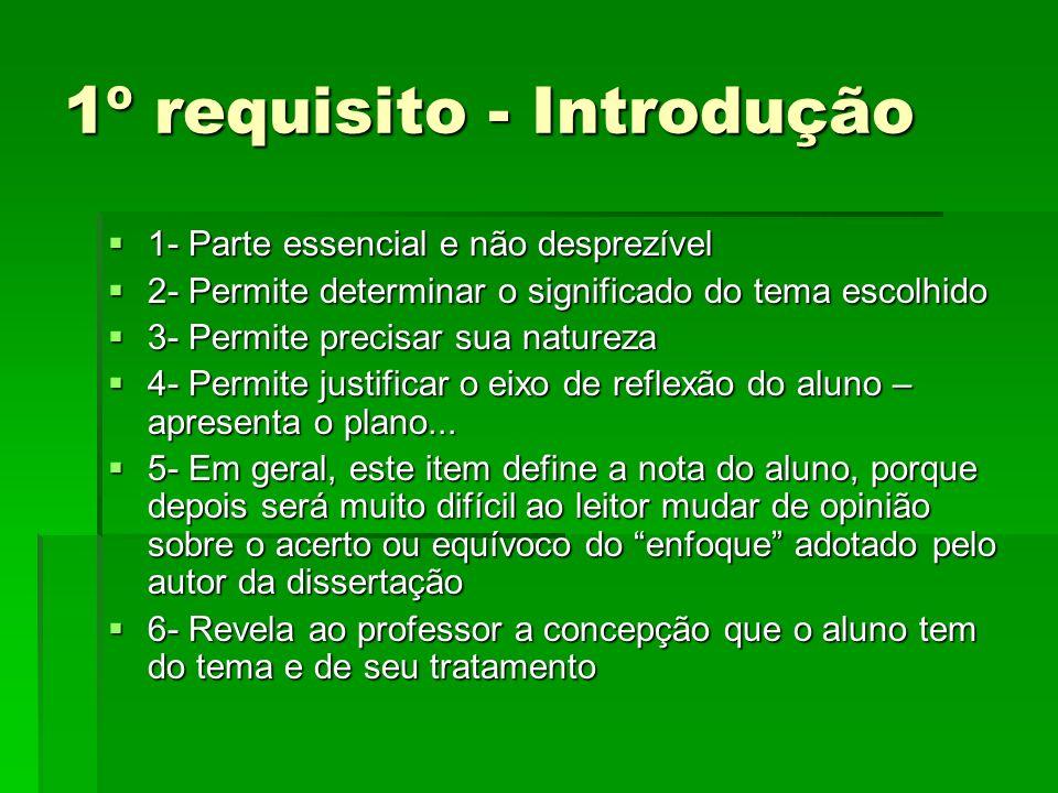 1º requisito - Introdução