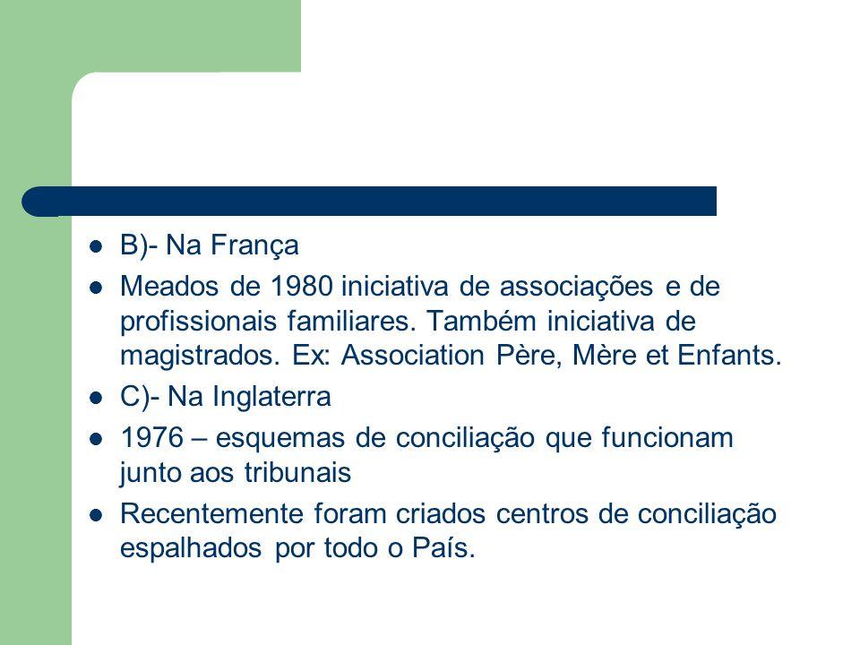 B)- Na França