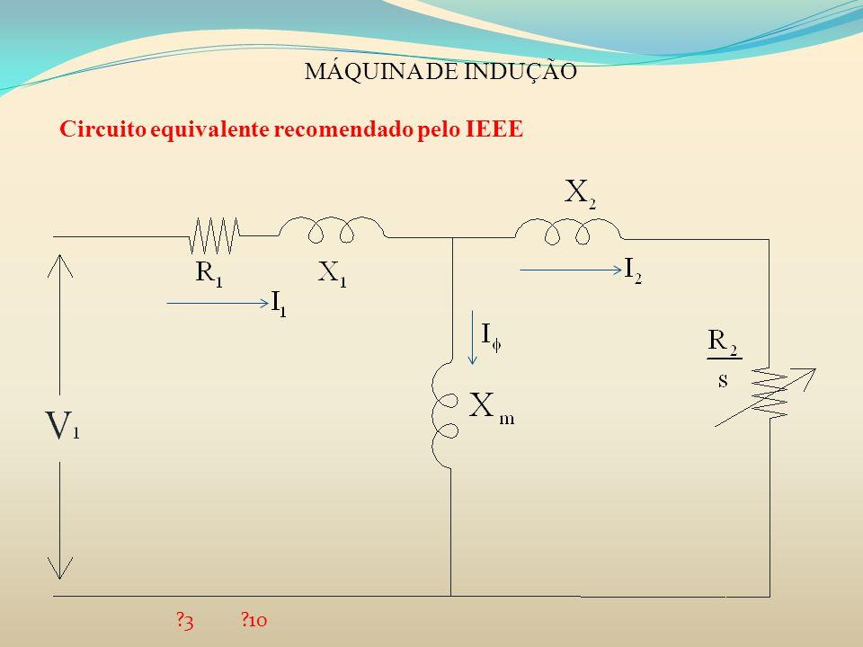 Circuito equivalente recomendado pelo IEEE
