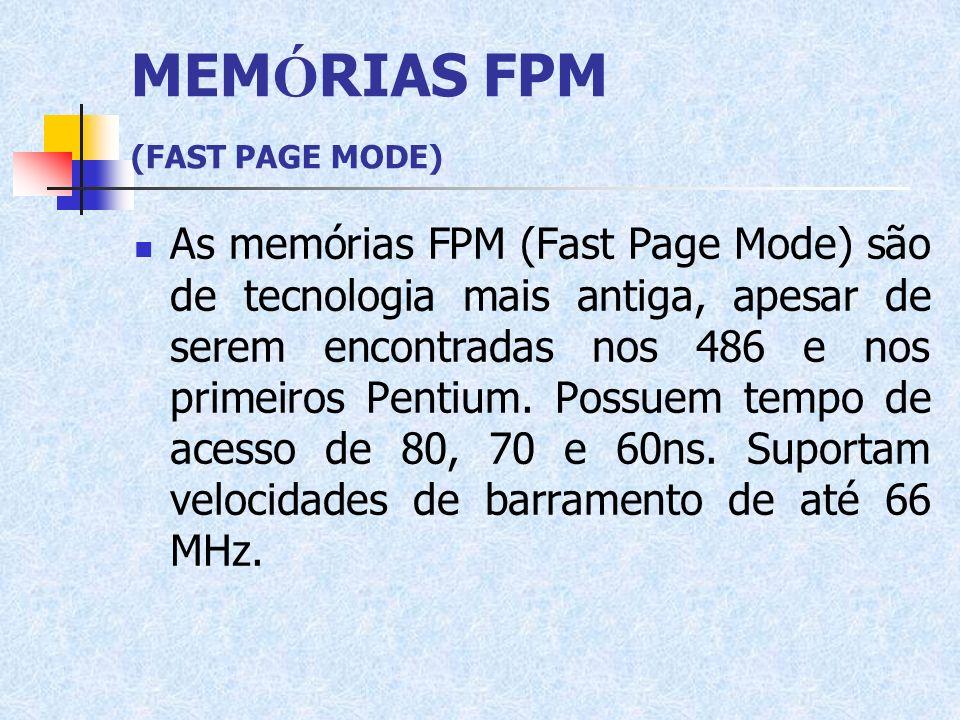 MEMÓRIAS FPM (FAST PAGE MODE)