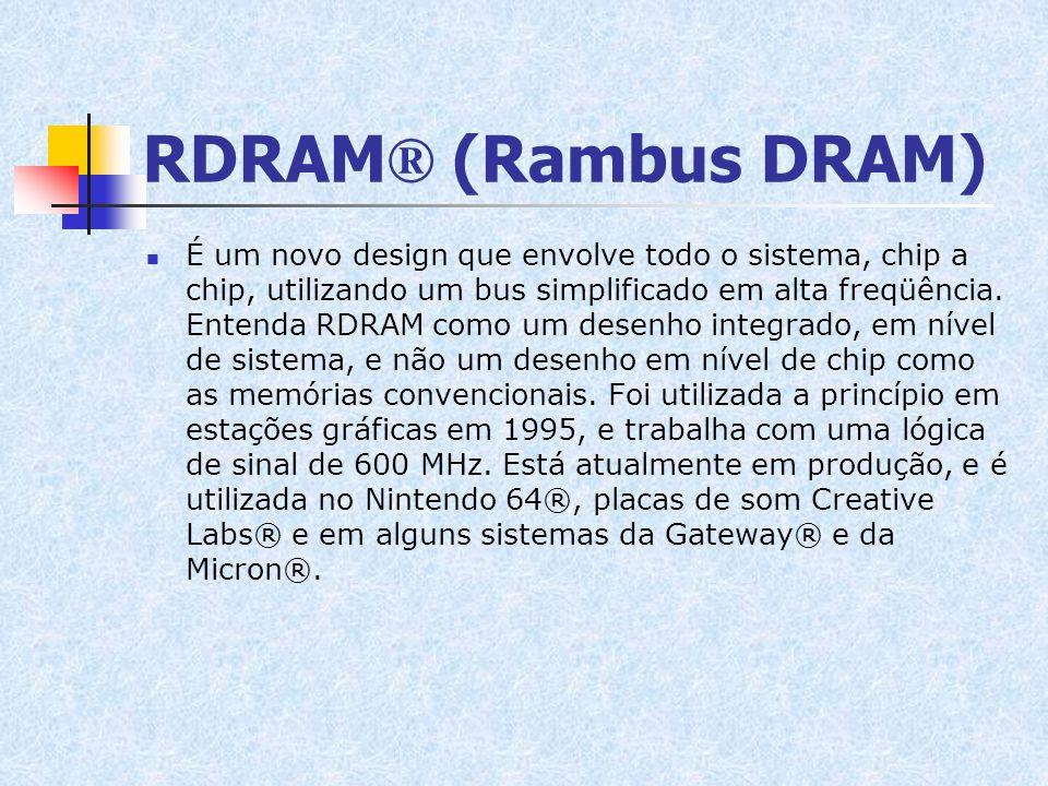 RDRAM® (Rambus DRAM)