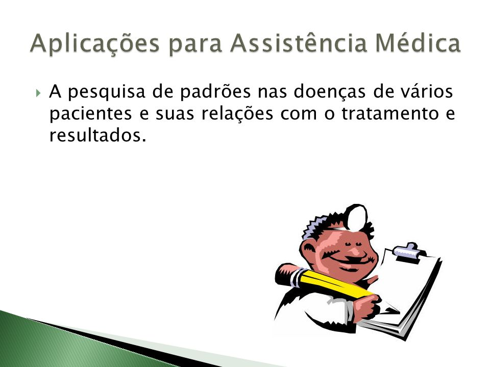 Aplicações para Assistência Médica