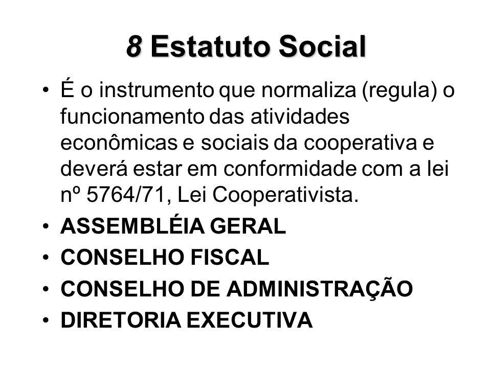8 Estatuto Social