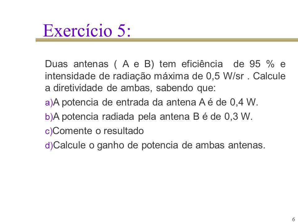 Exercício 5: