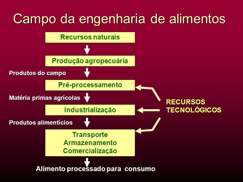 Campo da engenharia de alimentos
