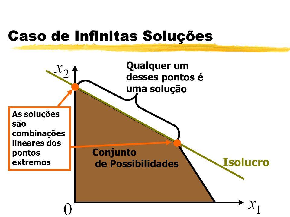 Caso de Infinitas Soluções