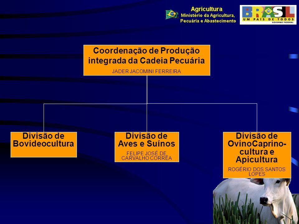 Coordenação de Produção integrada da Cadeia Pecuária