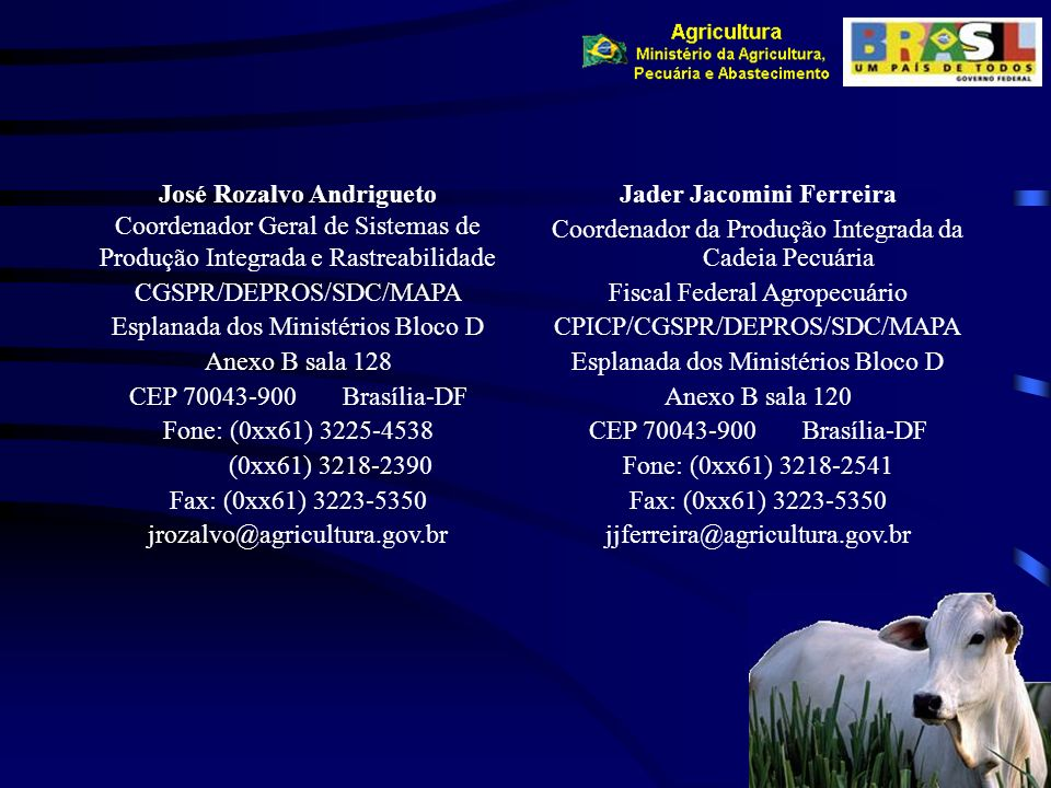 José Rozalvo Andrigueto Jader Jacomini Ferreira
