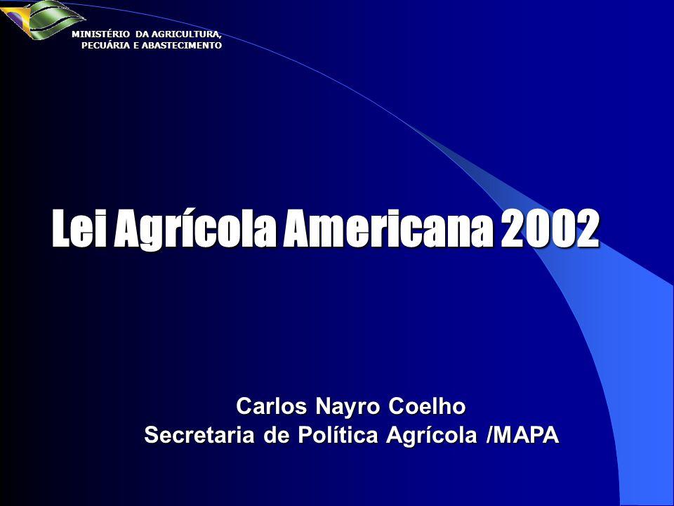 Secretaria de Política Agrícola /MAPA