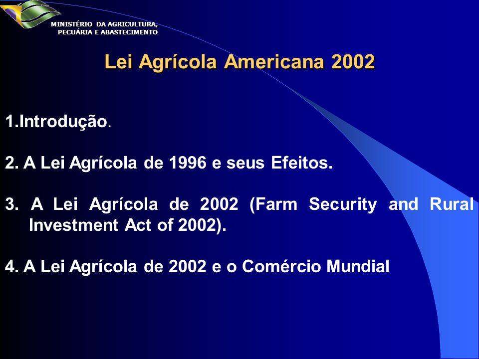 Lei Agrícola Americana 2002