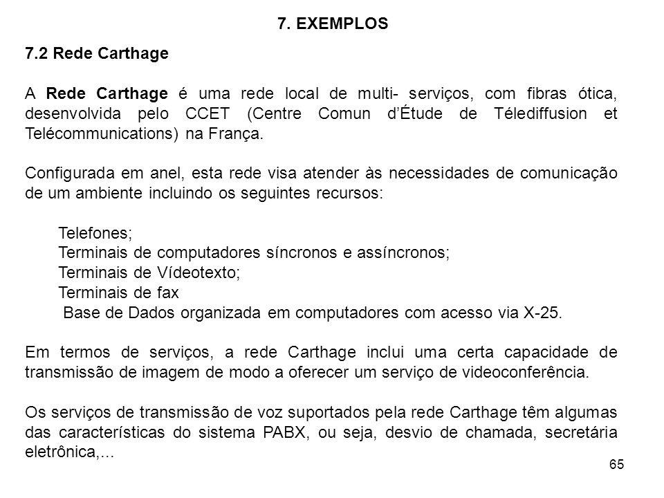 6. ALGUMAS APLICAÇÕES 6.1 Redes Locais.