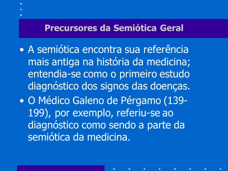 Precursores da Semiótica Geral