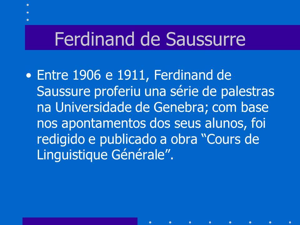 Ferdinand de Saussurre