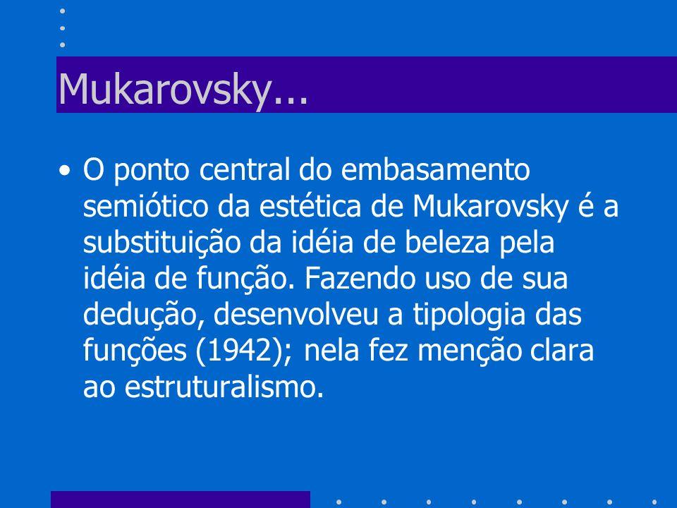 Mukarovsky...