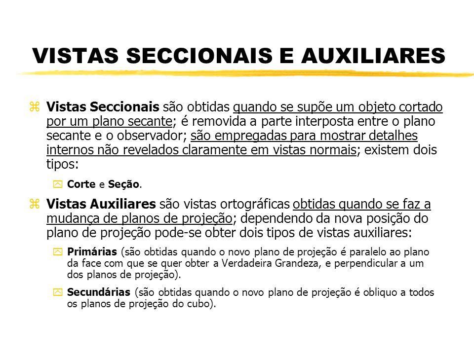 VISTAS SECCIONAIS E AUXILIARES