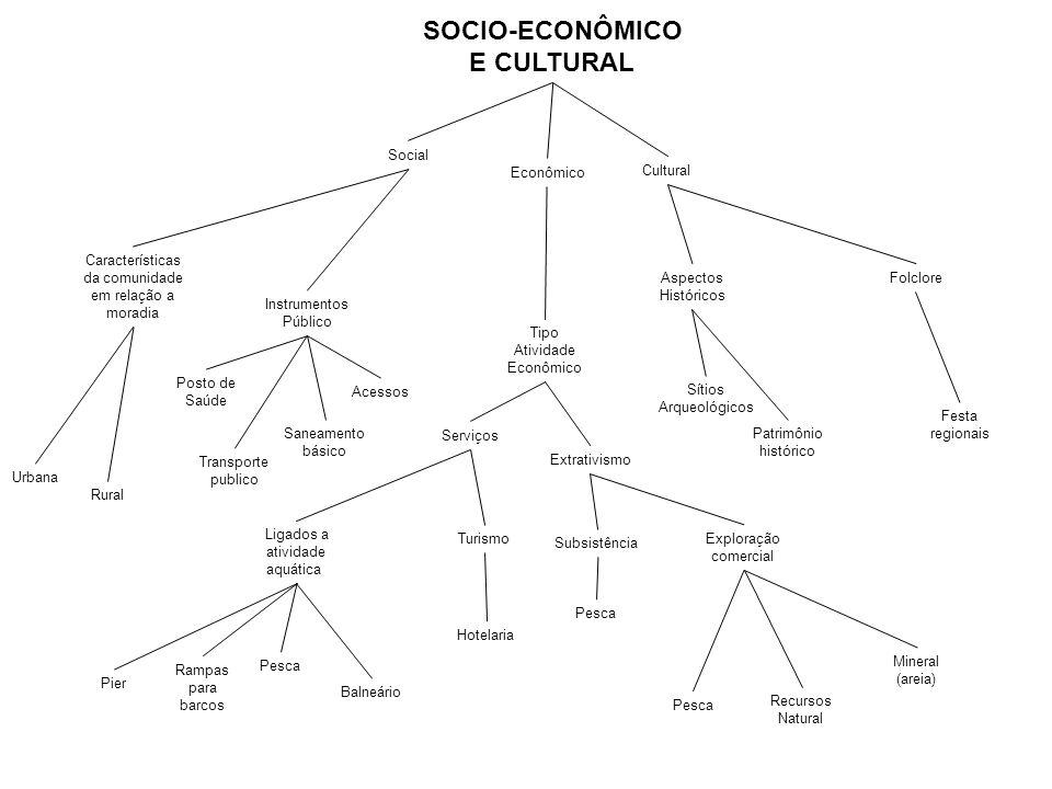 SOCIO-ECONÔMICO E CULTURAL