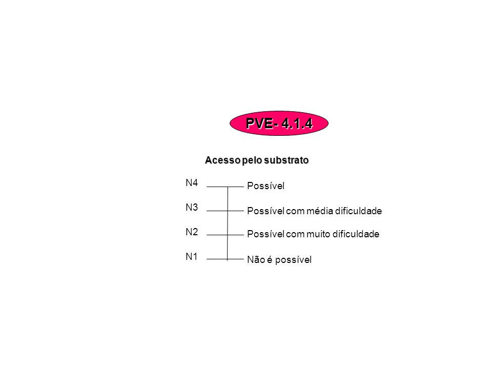 PVE- 4.1.4 Acesso pelo substrato N4 Possível N3