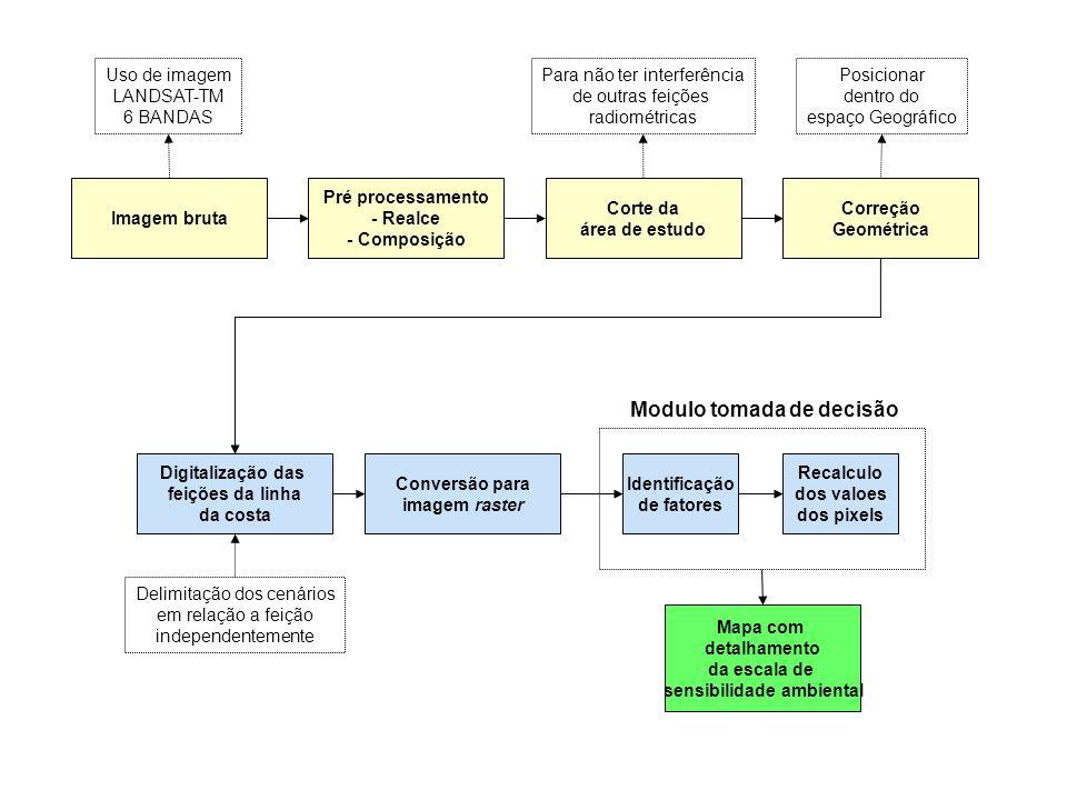 Modulo tomada de decisão sensibilidade ambiental