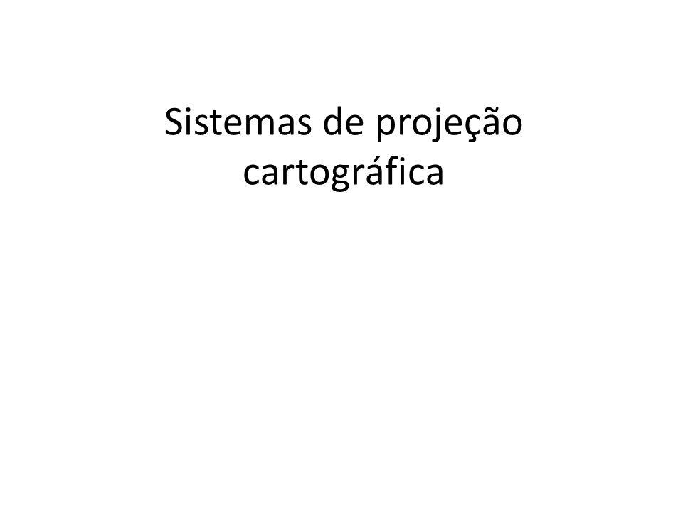 Sistemas de projeção cartográfica