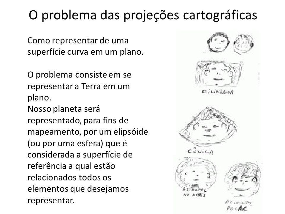 O problema das projeções cartográficas