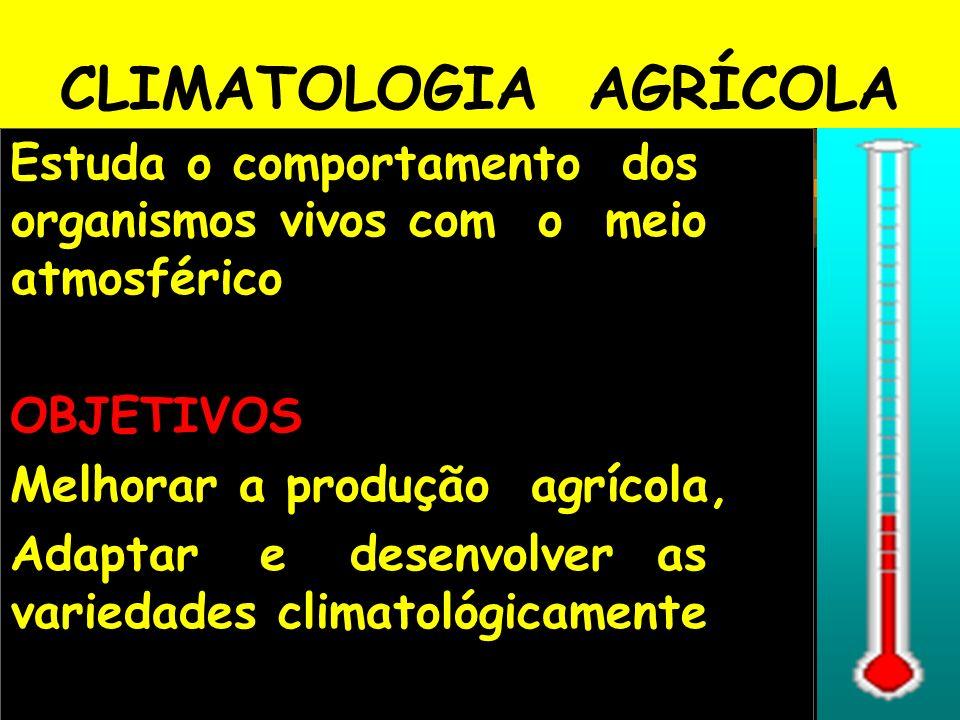 CLIMATOLOGIA AGRÍCOLA