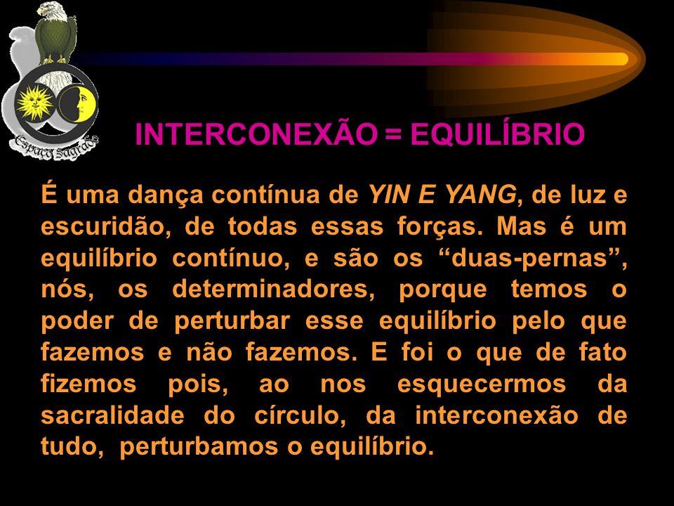 INTERCONEXÃO = EQUILÍBRIO