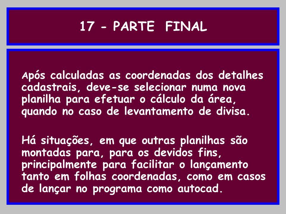 17 - PARTE FINAL