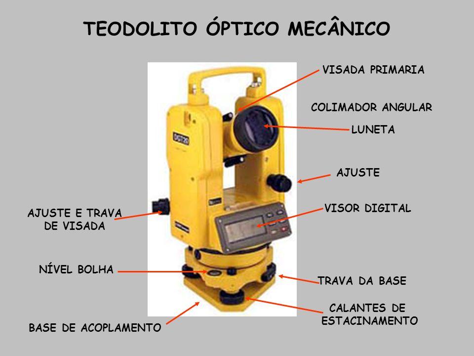 TEODOLITO ÓPTICO MECÂNICO
