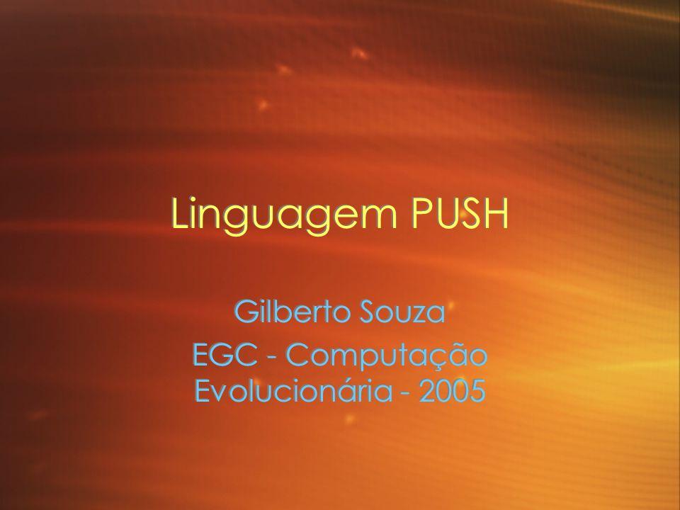 Gilberto Souza EGC - Computação Evolucionária - 2005