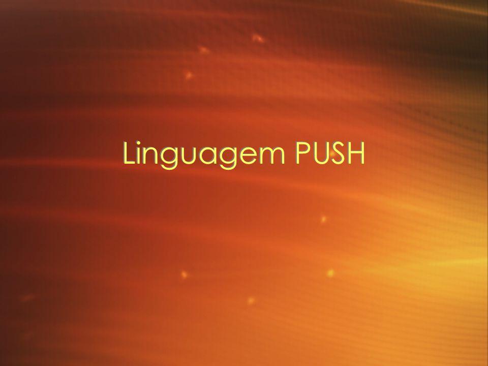 Linguagem PUSH
