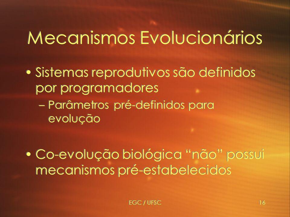 Mecanismos Evolucionários