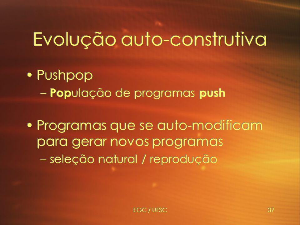 Evolução auto-construtiva
