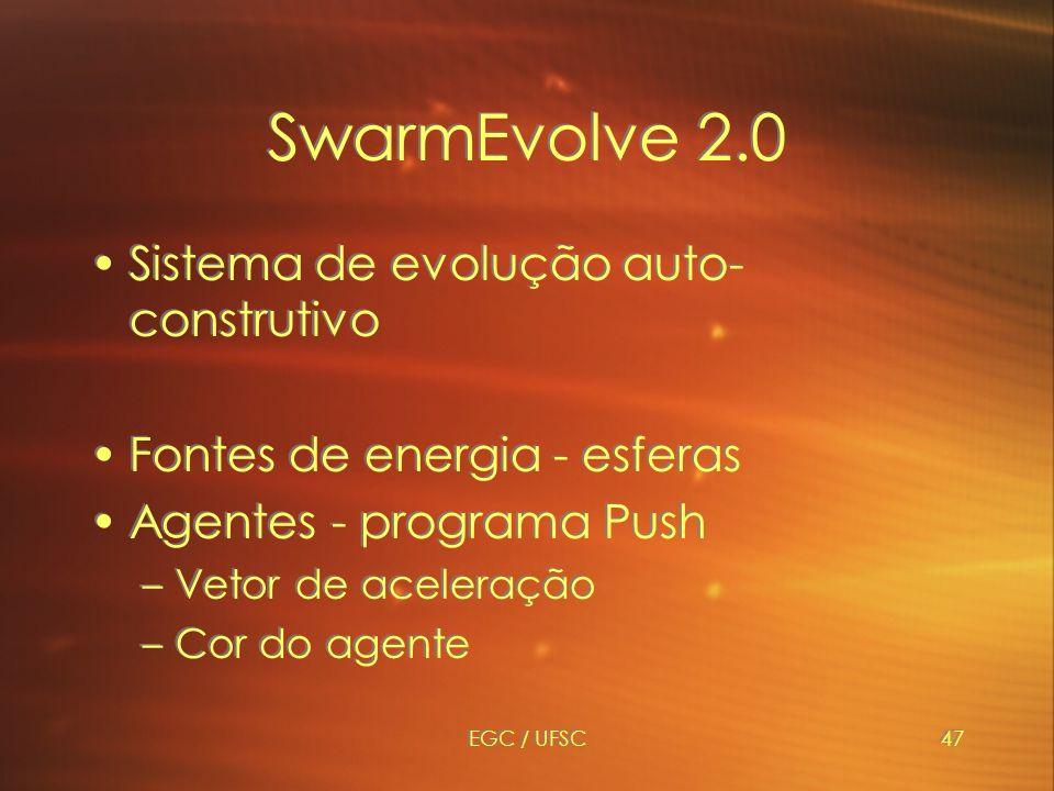 SwarmEvolve 2.0 Sistema de evolução auto-construtivo