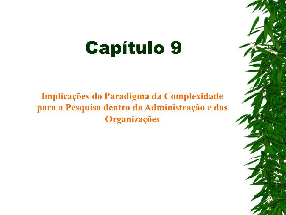 Capítulo 9Implicações do Paradigma da Complexidade para a Pesquisa dentro da Administração e das Organizações.