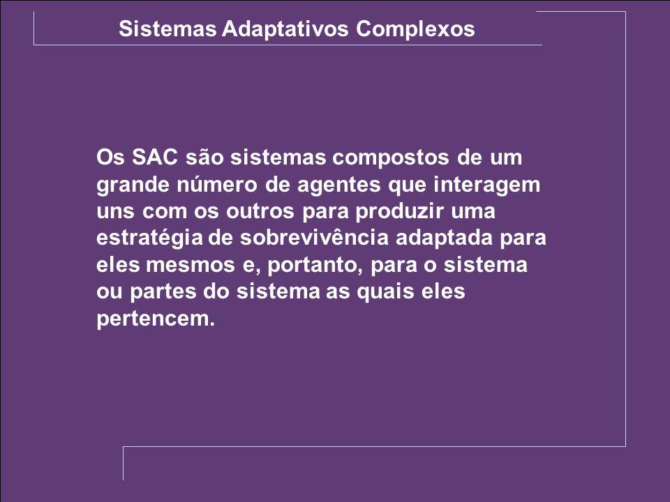 Sistemas Adaptativos Complexos