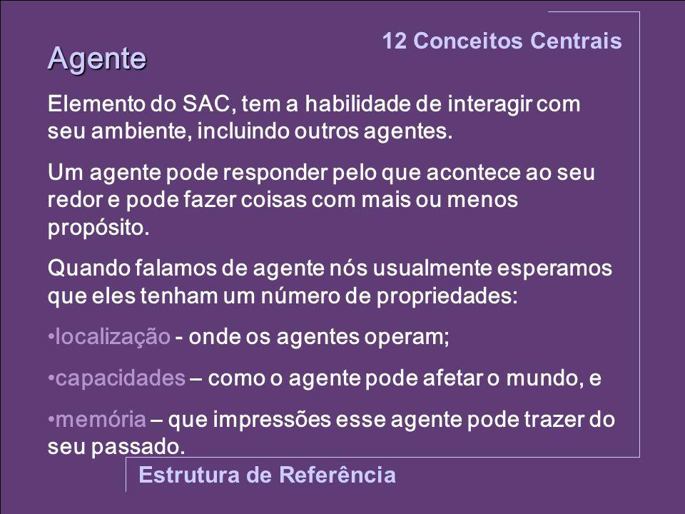 Agente 12 Conceitos Centrais
