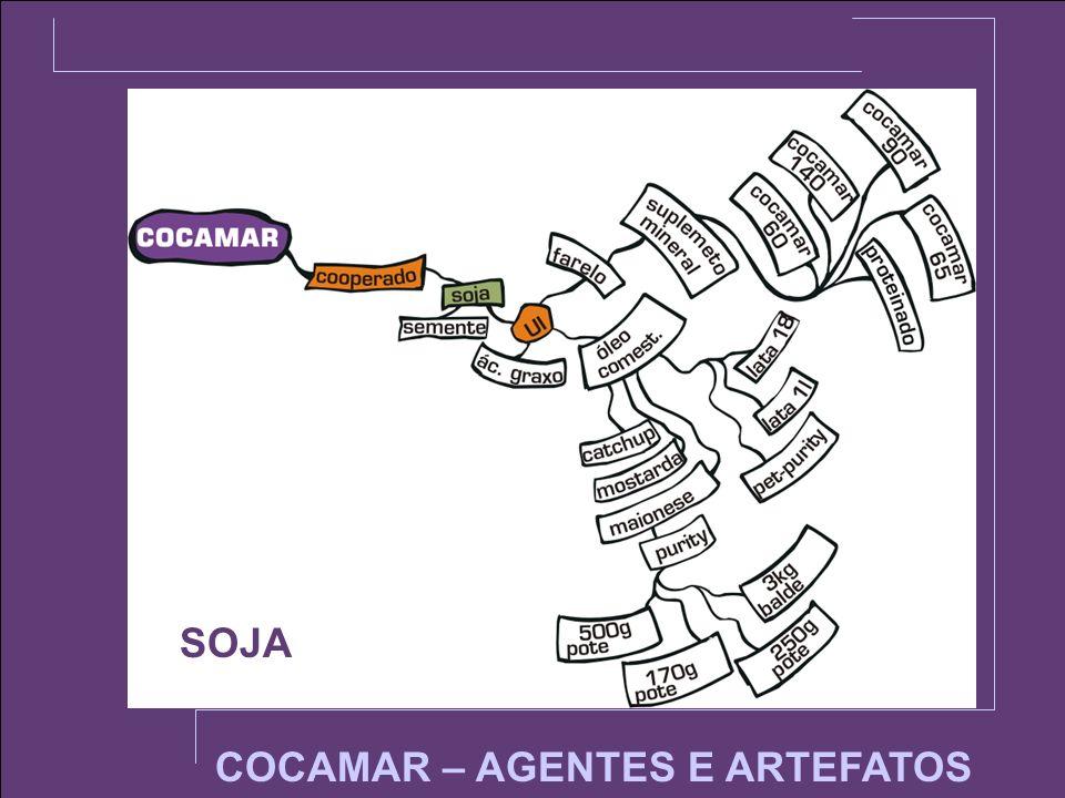 SOJA COCAMAR – AGENTES E ARTEFATOS