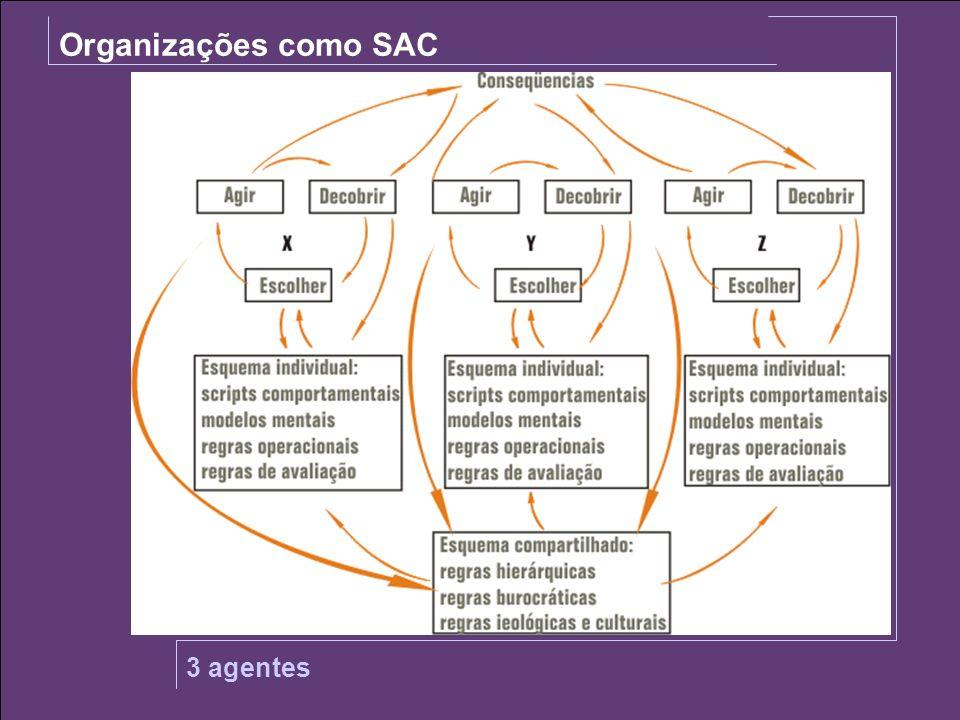 Organizações como SAC SOJA 3 agentes